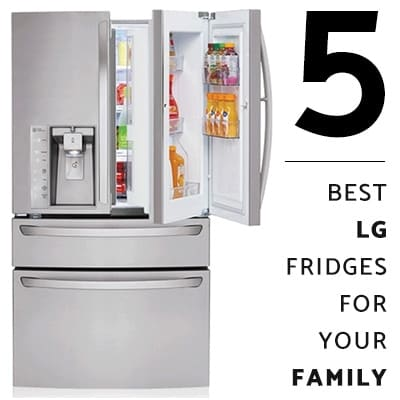 5 Best LG Refrigerators for Your Family