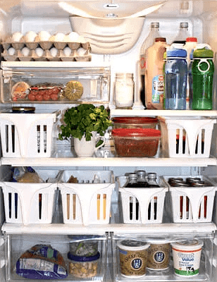 refrigerator bin organizers