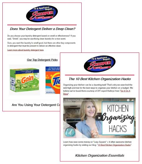 appliance-repair-newsletter
