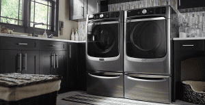 front load washer leaking