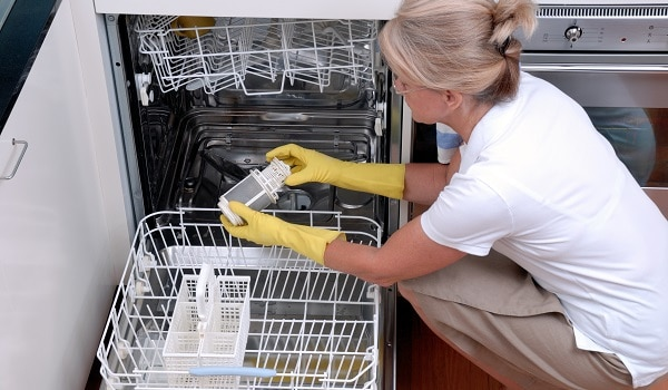 how to clean a samsung dishwasher filter