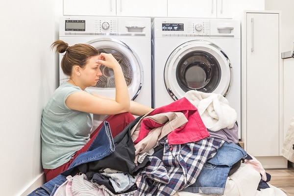 samsung front load washer won't start